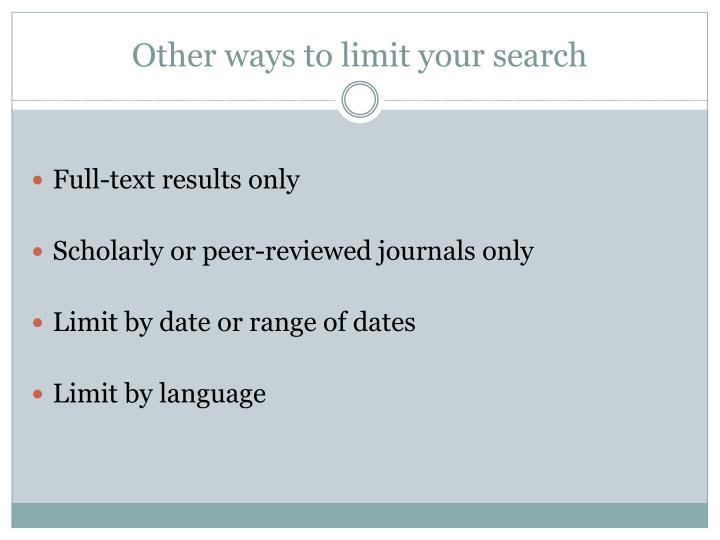 peer reviewed literary journals