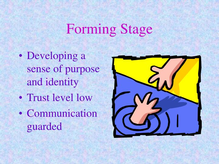 Forming Stage