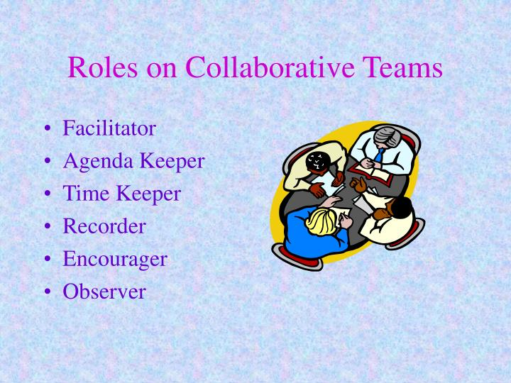 Roles on Collaborative Teams