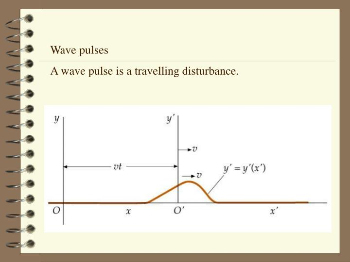 Wave pulses