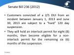 senate bill 236 2012