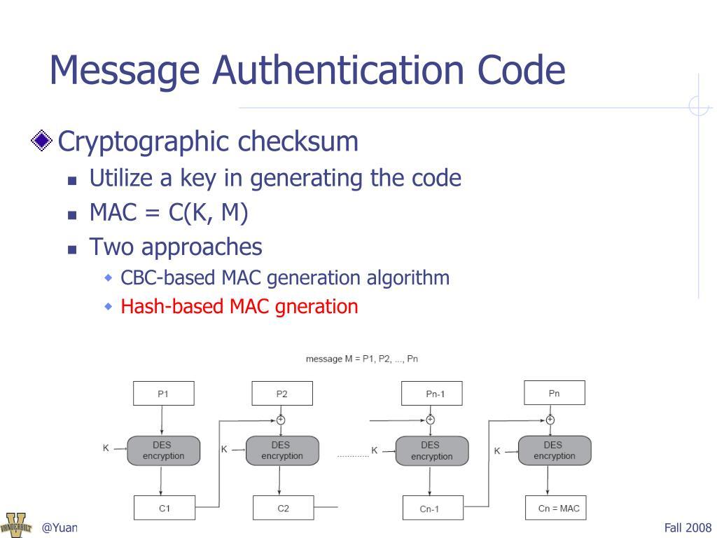 PPT - Hash Algorithms PowerPoint Presentation - ID:1797365