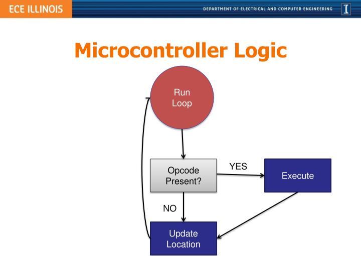Microcontroller Logic