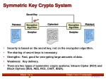 symmetric key crypto system