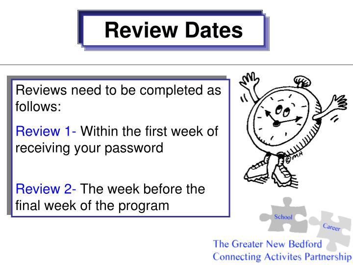 Review Dates