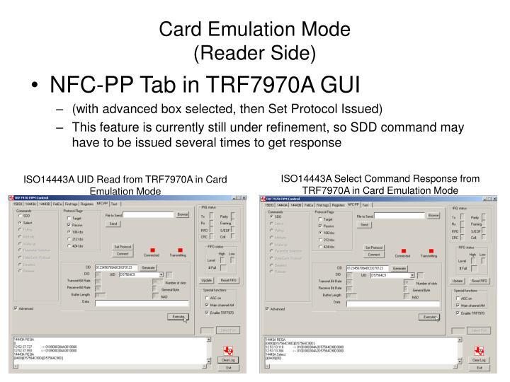 Card Emulation Mode
