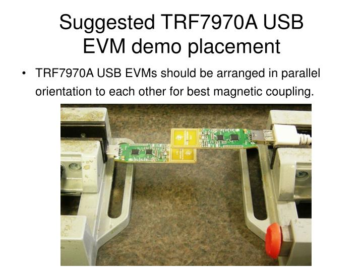 Suggested TRF7970A USB
