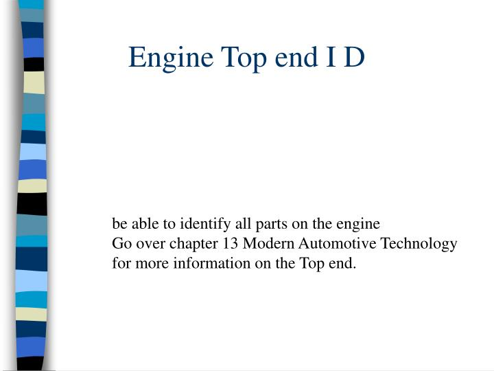 engine top end i d n.