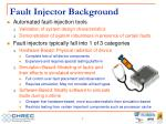 fault injector background