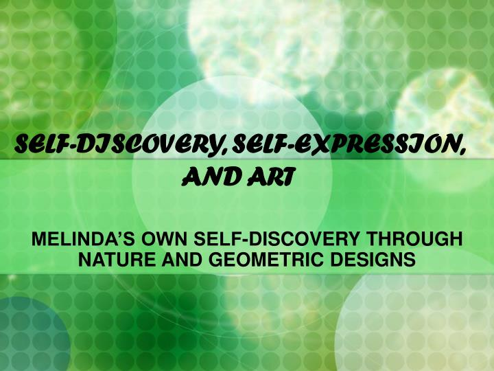 the essay of self expression Free self expression papers, essays, and research papers.