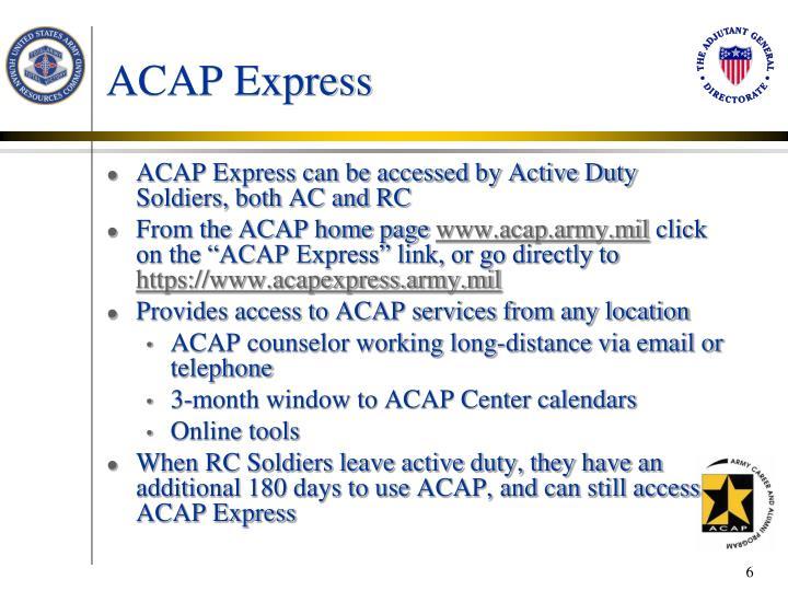 ACAP Express