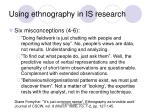 using ethnography in is research1