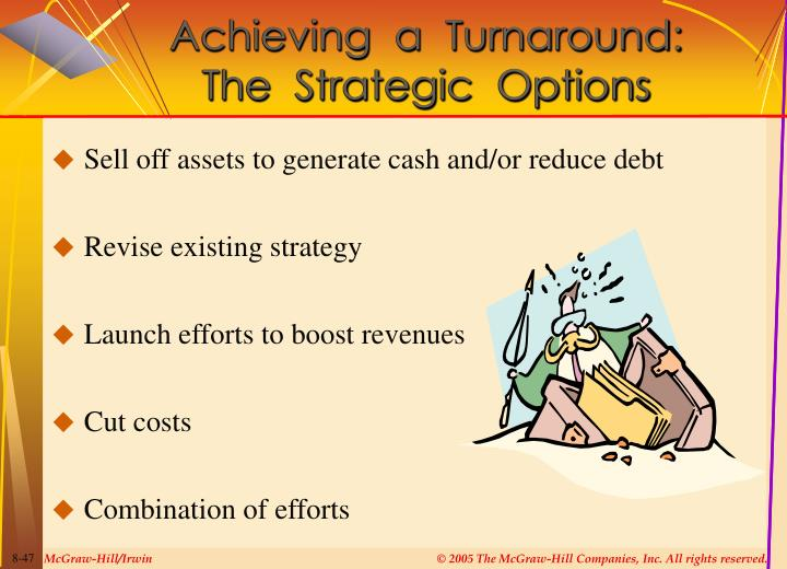 Achieving  a  Turnaround:
