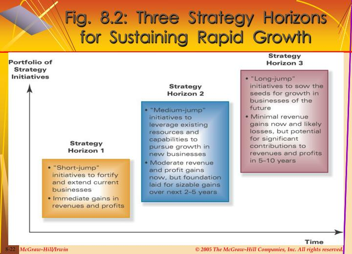 Fig.  8.2:  Three  Strategy  Horizons