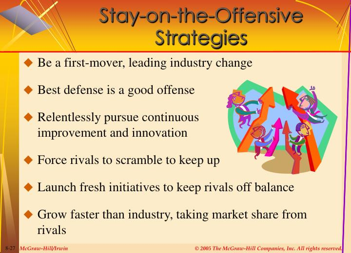 Stay-on-the-Offensive  Strategies