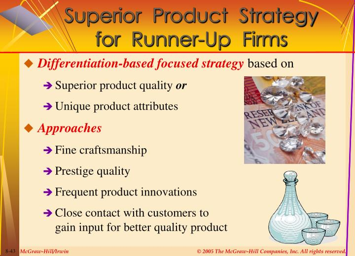 Superior  Product  Strategy
