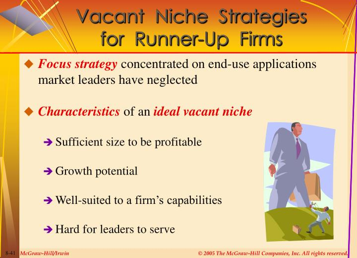 Vacant  Niche  Strategies