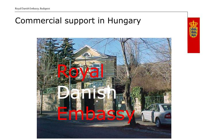 Commercial support i n hungary