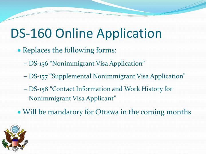 DS-156 NONIMMIGRANT VISA APPLICATION PDF