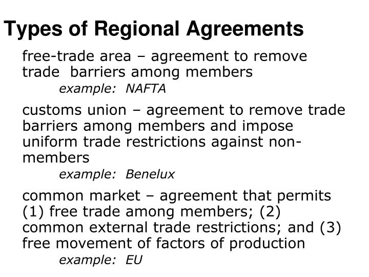 Ppt Regional Trading Agreements Powerpoint Presentation Id1799266