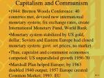capitalism and communism