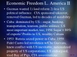 economic freedom l america ii