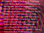 united states defeat in vietnam