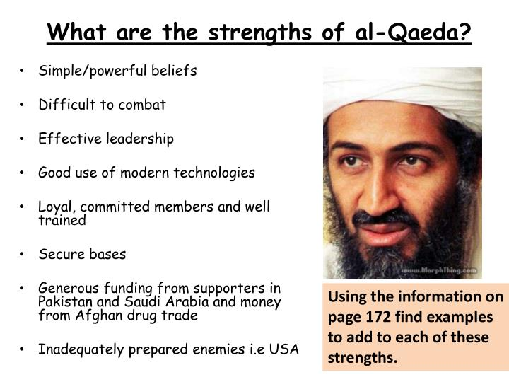 al qaeda essay paper The al-qaeda has proven to the world that will not budge upon their beliefs and any one who opposes them will surely be given a miserable fate the fact that the al-qaeda is connected to the muslim world proves that they have to ability to muster the finances and manpower to instigate a holy war.