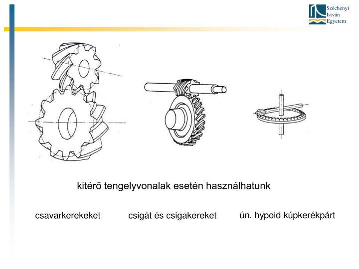 ún. hypoid kúpkerékpárt