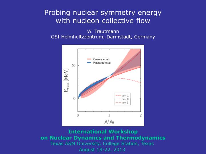 Probing nuclear symmetry energy