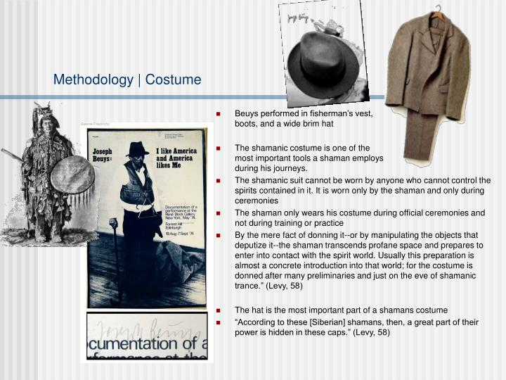 Methodology | Costume