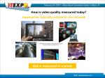 how is video quality measured today