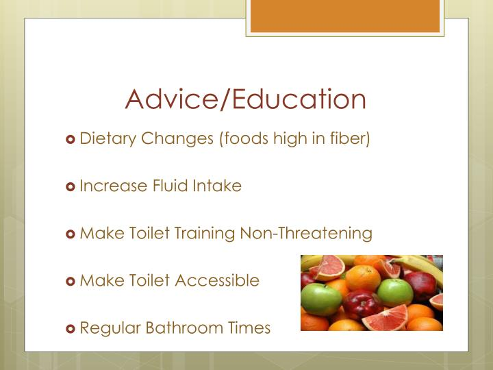 Advice/Education