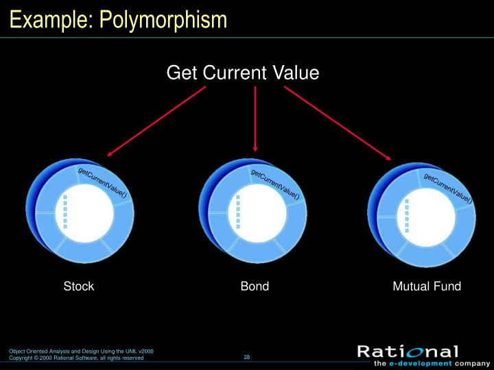 Example: Polymorphism
