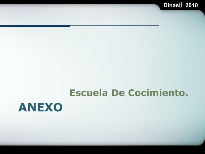 Escuela De Cocimiento.