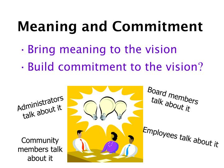 Meaning and Commitment
