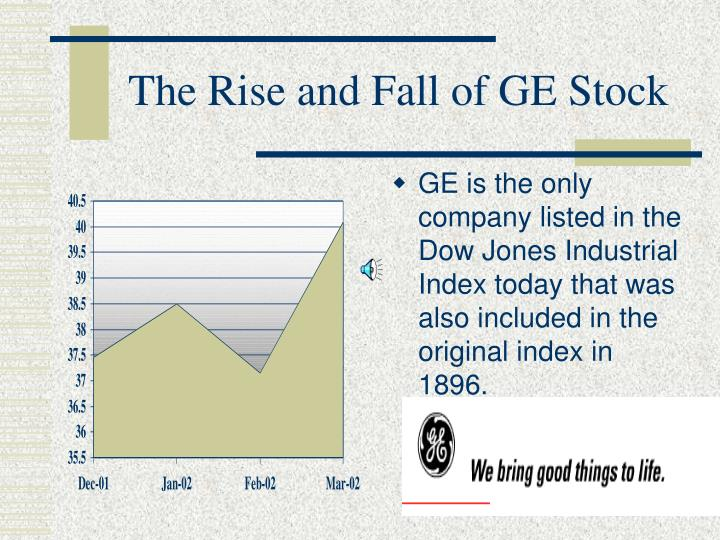 The Rise and Fall of GE Stock