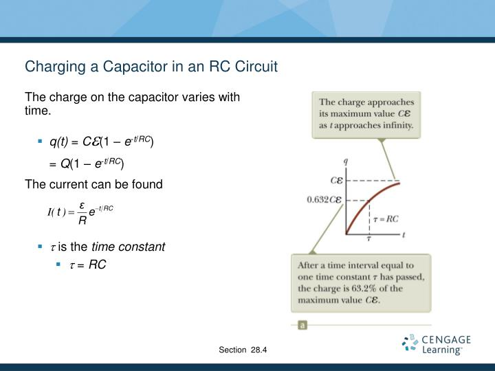 Charging a Capacitor in an RC Circuit