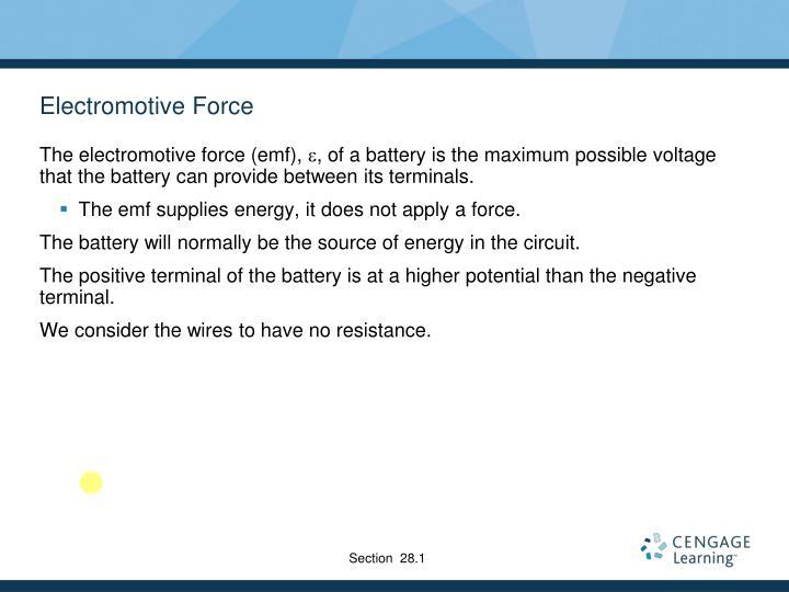 Electromotive Force