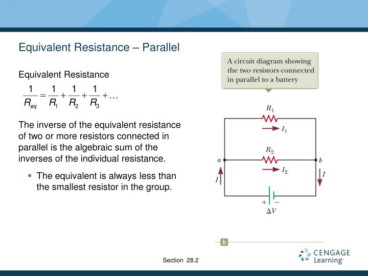 Equivalent Resistance – Parallel
