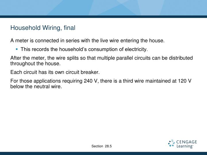 Household Wiring, final