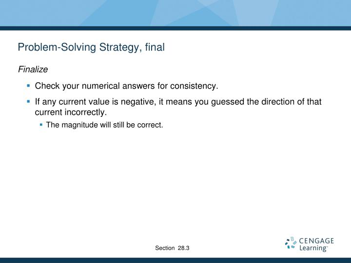 Problem-Solving Strategy, final