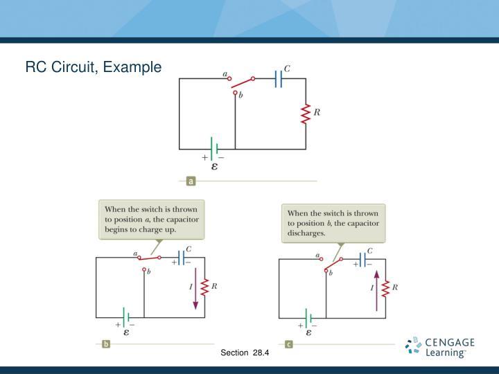 RC Circuit, Example