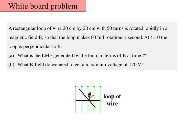 White board problem