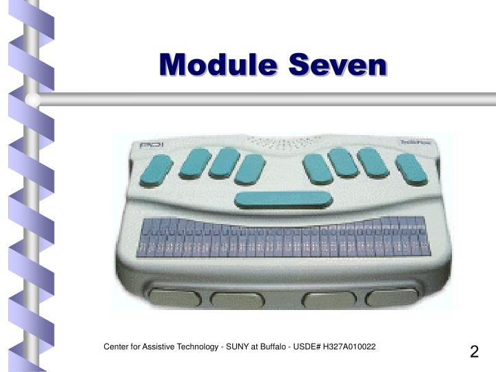 Module seven