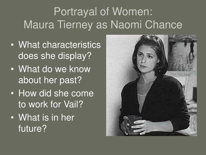 the portryal of women