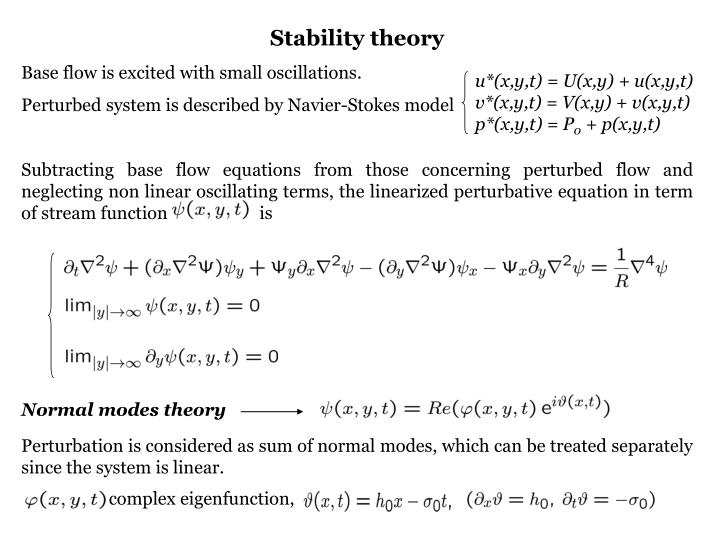 Stability theory
