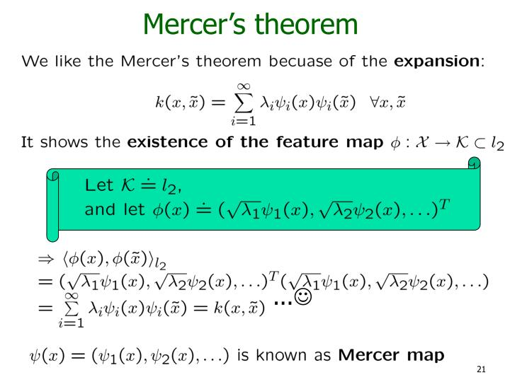 Mercer's theorem