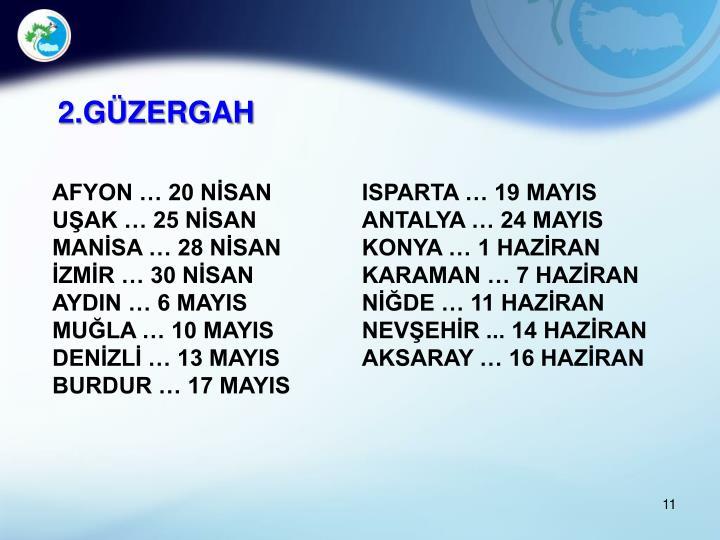 2.GÜZERGAH