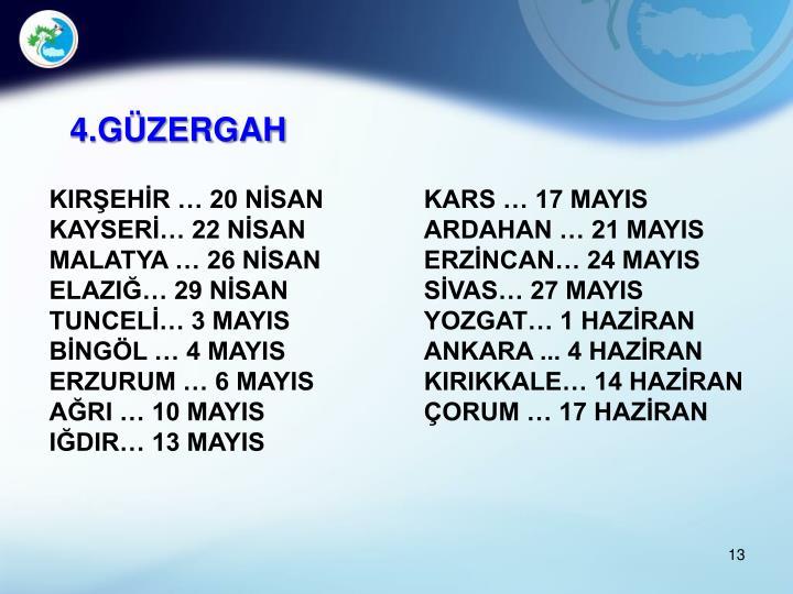 4.GÜZERGAH